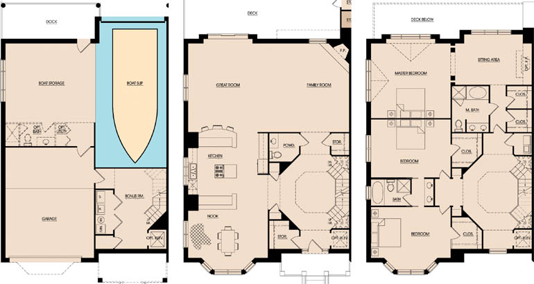 Lighthouse point living Lighthouse home floor plans